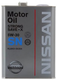 Nissan Strong Save-X 5W-30 (ж/б)